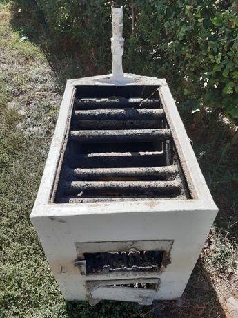 Печь 2 в одном газ уголь