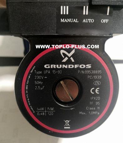 Бустер помпа Grundfos UPA15-90