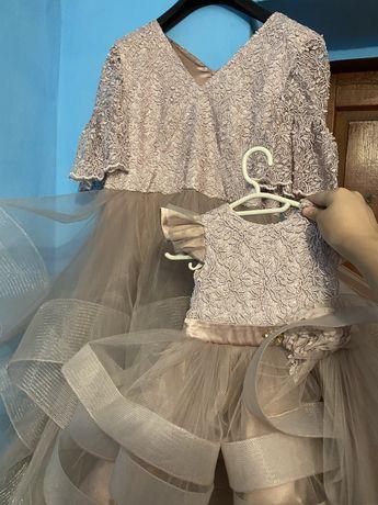 Платье «Мама и Дочка»