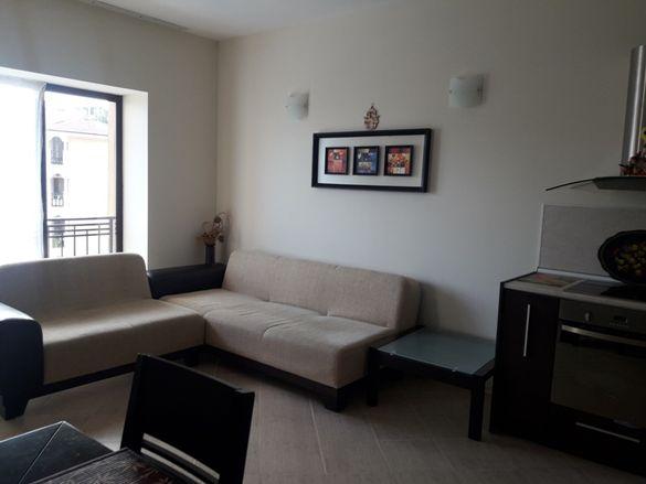 Намалена цена! Обзаведен двустаен апартамент в к.к.Златни пясъци
