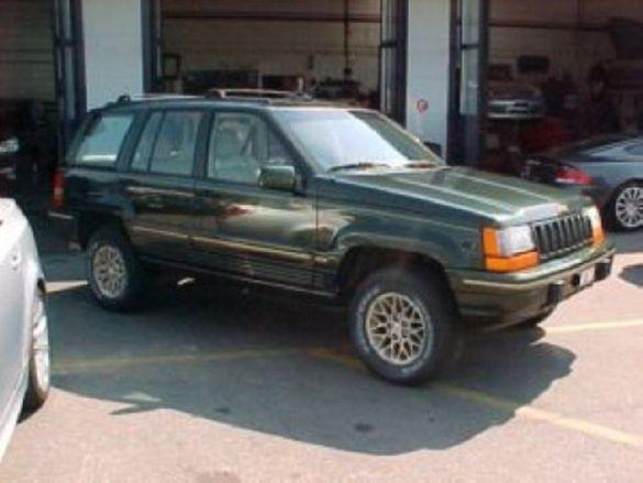 Grand Cherokee 5.2 на части. 1996 г.