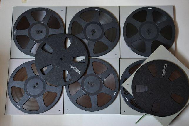 Banda magnetofon REVOX-STUDER, 26,5cm plastic/metal-akai, pioneer,teac