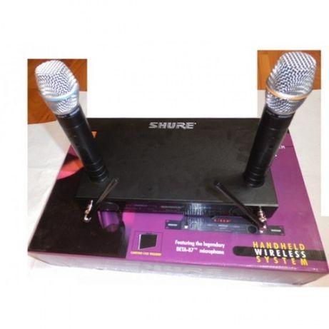 Set 2 microfoane cu receiver Vocal Artist Shure