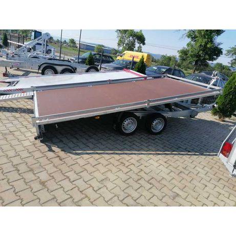 Trailer Lenka, Transport masini, Remorca basculabila hidraulic,520x210