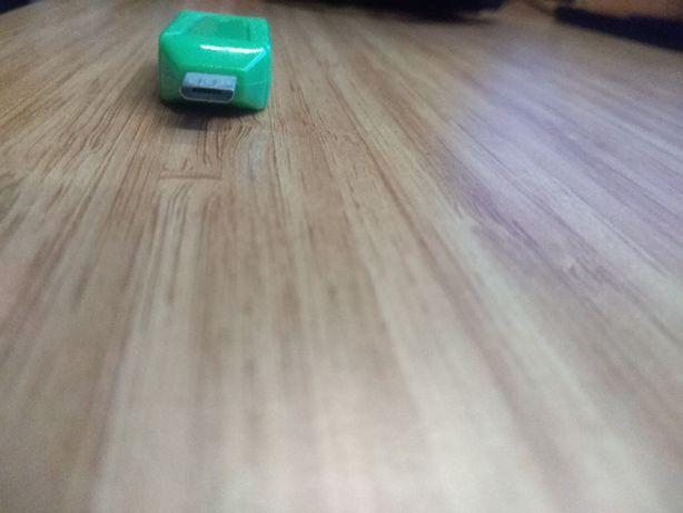 Cititor de carduri USB 2.0, SD/microSD, verde