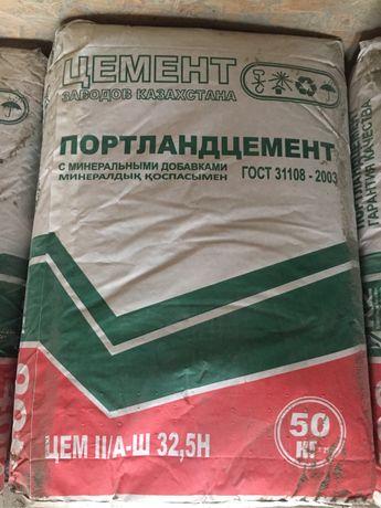 Цемент с бесплатной доставкой по г. Алматы