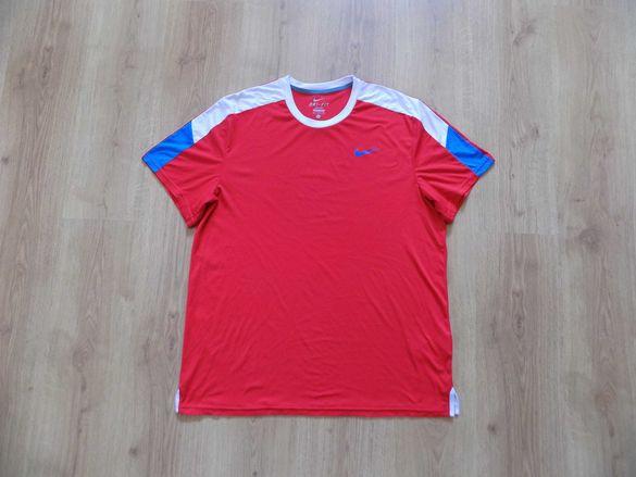 Тениска nike  найк потник оригинална спорт тренировка мъжка размер XL