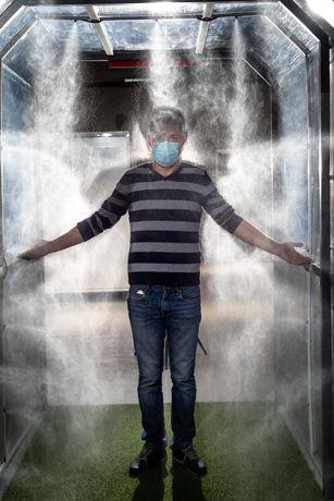 Tunel dezinfectare Avizat/Omologat