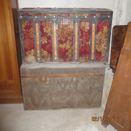 старинни дървени сандъци