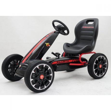 Картинг Abarth Pedal Go Kart с меки гуми
