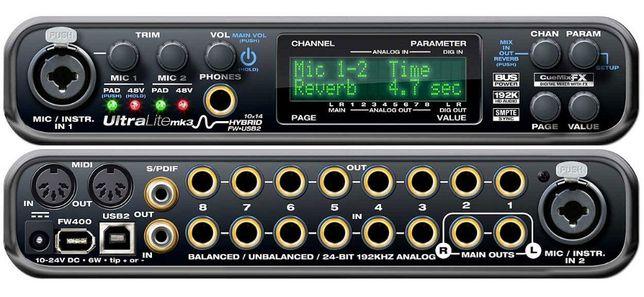 Placa audio Studio Motu UltraLite Mk3