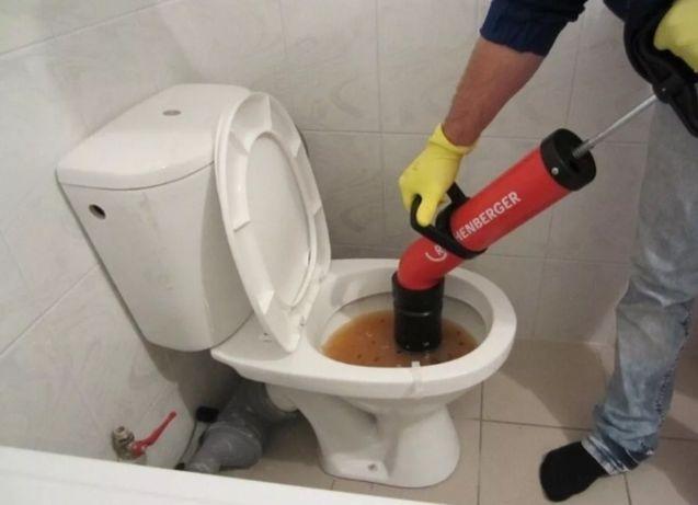 Услуги сантехника прочистка канализаций специальным аппаратом в Атырау
