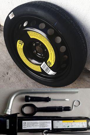 Kit Complet R20 Roata De Rezerva SLIM ORIGINALA Audi A6 C7 C8 A7 A8