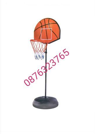 Детски баскетбол баскетболен кош със стойка и топка
