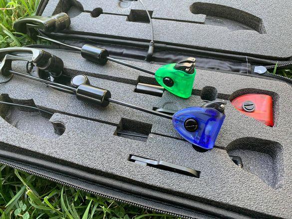 Комплект обтегачи за риболов CarpMax Euro Swingers MULTICOLOUR
