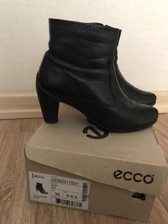 Обувь Ecco полусапожки кожа