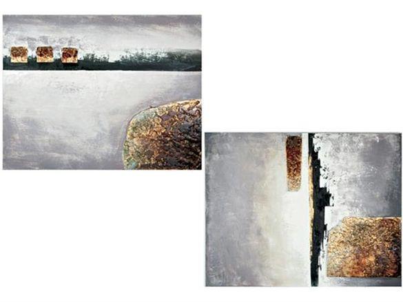 абстрактна картина 2 вида