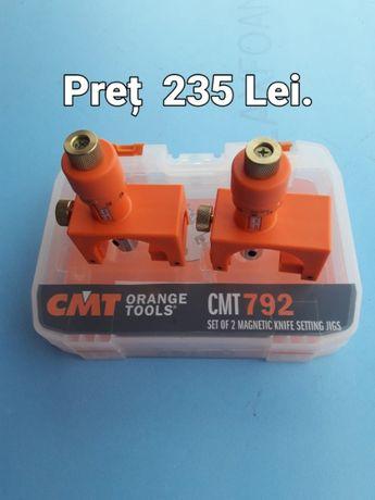 Dispozitiv magnetic pentru reglat cutite abric