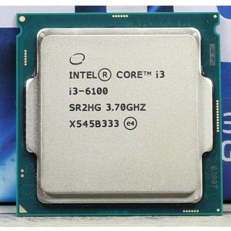 Процессор intel core i3 6100 s1151 25шт.