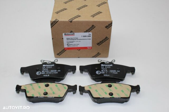 PLACUTE FRANA FATA FOCUS II + III , C-MAX I + II, CONNECT Ford placute frana