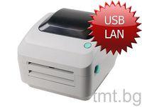 Нов етикетен принтер за товарителници Еконт, Спиди и други с LAN