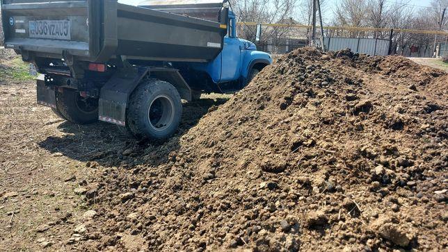 Песок глина черназем зил сыпучих грузов