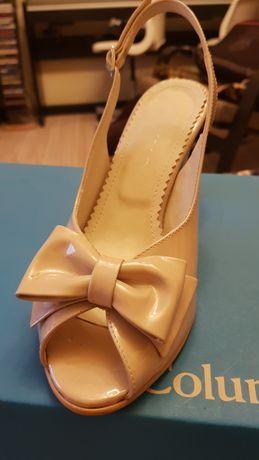 Sandale Pantofi Crem Nude  36