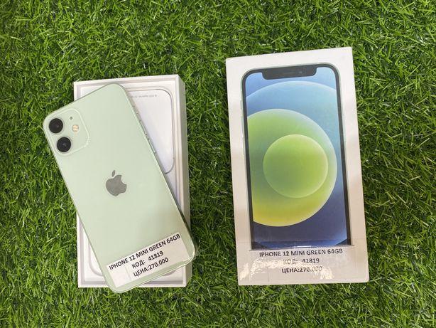 Iphone 12. Mini. Green. 64gb. 100%