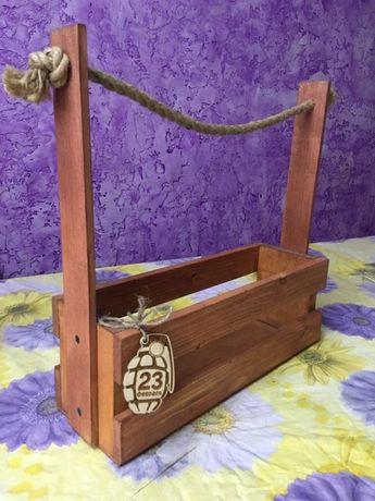 Ящик для мужского букета