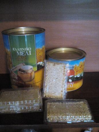 Пчелен мед,восъчна пита,изградени пчелни пити-празни,мед,восък,про