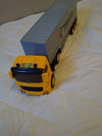 Camion de jucărie efecte luminoase și sonore