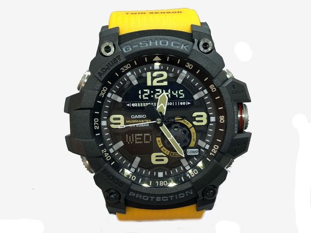 Ceas Sport Casio G Shock GG1000 MUDMASTER Yellow, ORIGINAL 100%
