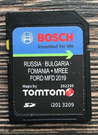 2019год. Ford MFD SD Card Bulgaria Russia Romaniai Сд Карта Навигация