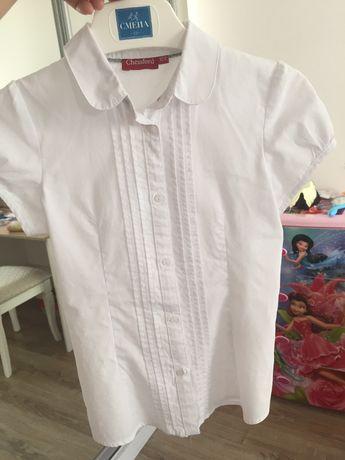 Блузка и юбка на девочку 122-128 см