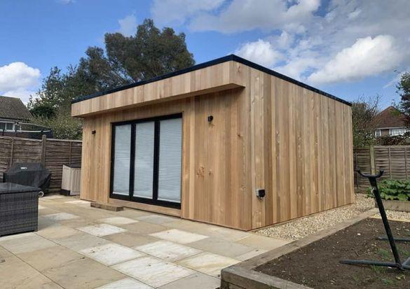 Сглобяема къща, офис, павилион, беседка, дървена къща