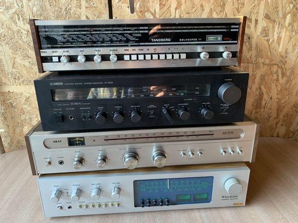 Amplificatoare vintage Yamaha/Akai/Tandberg/Wharfedale
