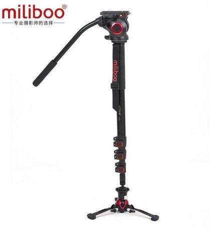 Monopied video din carbon MILIBOO MTT705BS, monopod foto DSLR, camera