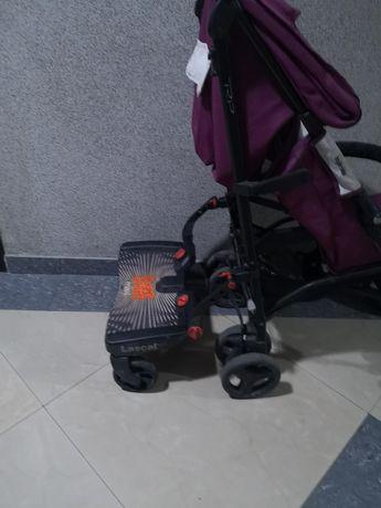 Подножка/тележка/подставка для коляски трость для второго ребёнка