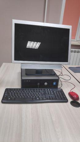 Компьютер Dell OptiPlex 760 для дома и офиса, монитор, мышь, клавиатур