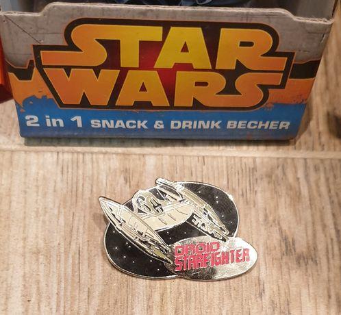 Star Wars Droid StarFIGHTER Метална Колекционерска Значка