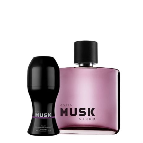 Musk Storm – тоалетна вода и рол-он за мъже от AVON