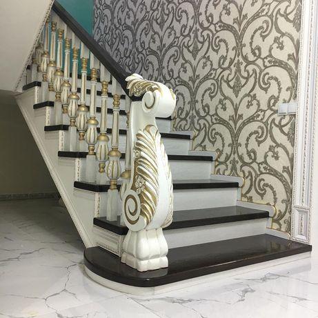 Лестницы из дерево и метала