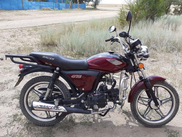 Продам мотоцикл  марки - Racer  -110 KБ в идеальном состоянии.