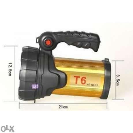 Мощен Водоустойчив Охранителен Прожектор Фенер с диод HG-328-T6 Cree L