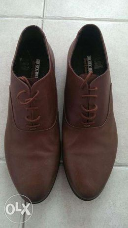 "DIRK BIKKEMBERGS ""Sport Couture"" brown derby shoes"