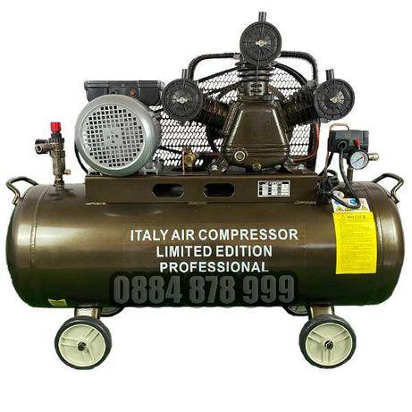 Компресор за въздух -3 глави, 3 kW, 100 литра