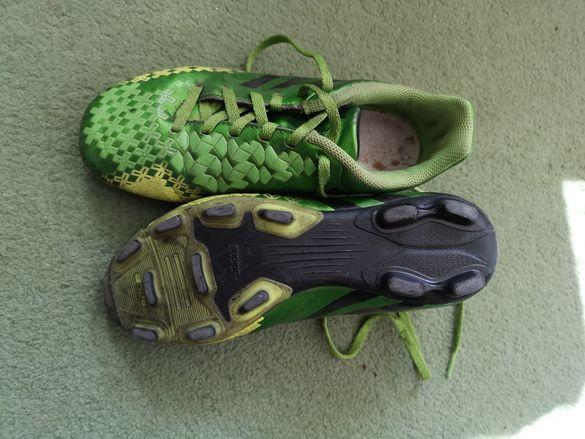 Футболни обувки adidas predito и Асикс