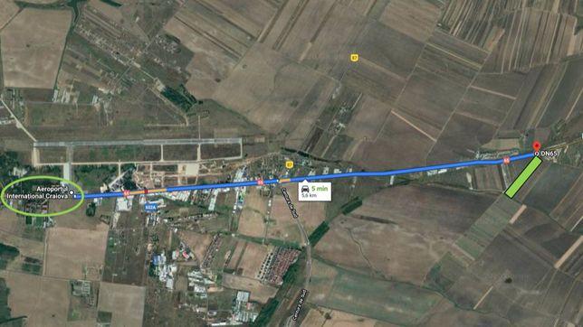 Teren Extravilan T56/P2-P3 20.000mp Pielesti(Parsani) 5min Aeroport