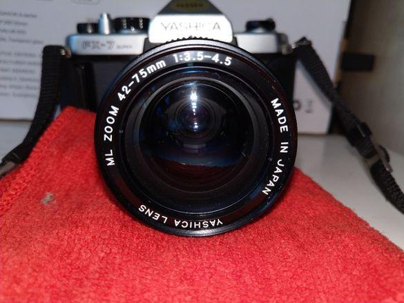 Продавам фотоапарат YASHICA FX-7 35-милиметров филмов фотоапарат с ML