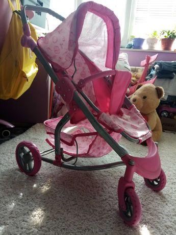 Детска количка за кукли +подарък-кошница за кукли